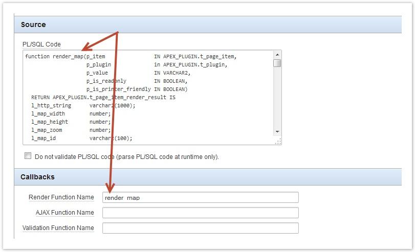 How to create an APEX Plugin
